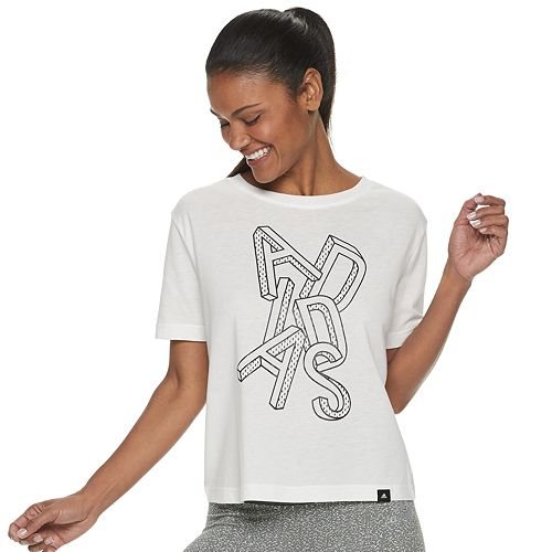 Women's Adidas Essentials Cropped Tee