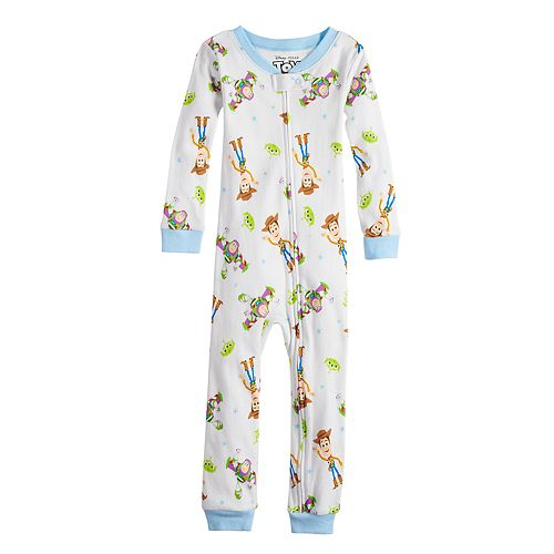 Toddler Boys Disney/Pixar Toy Story Footless Pajamas