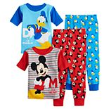 Disney's Mickey Mouse & Donald Duck Toddler Boy Tops & Bottoms Pajama Set