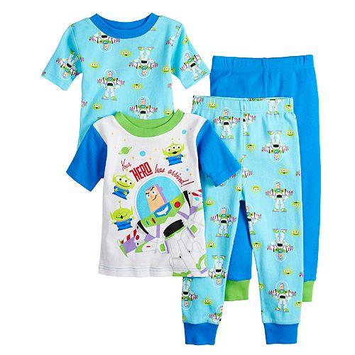 Disney / Pixar Toy Story Buzz Lightyear Toddler Boy Tops & Bottoms Pajamas