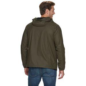 Big & Tall Dockers Hooded Rain Jacket