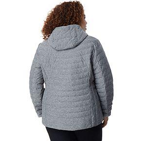 Plus Size HeatKeep Soft Stretch Packable Down Jacket