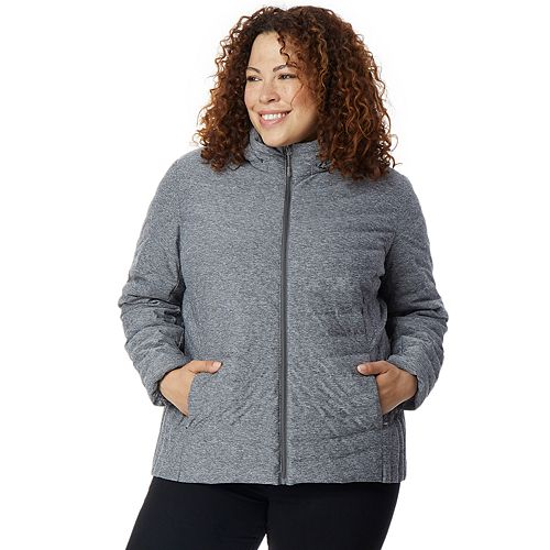 Plus Size HeatKeep Soft Stretch Packable Down Jacket