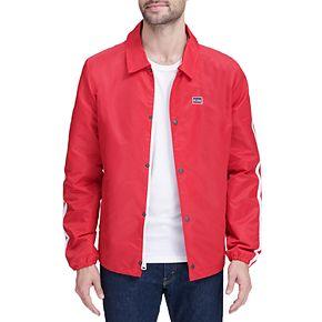 Men's Levi's Flight Satin Coaches Jacket