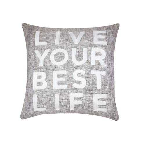 SONOMA Goods for Life™ Live Life Feather Fill Throw Pillow