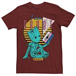 Men's Marvel Guardians of the Galaxy 2 Groot 90's Graphic Tee
