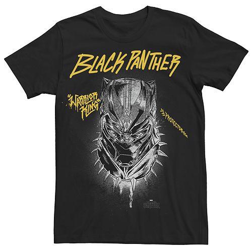Men's Marvel Black Panther Street Panther Graphic Tee
