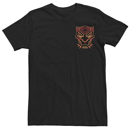 Men's Marvel Black Panther Geometric Graphic Tee