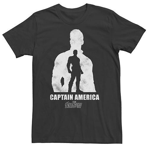 Men's Marvel Avengers Infinity War Captain America Graphic Tee