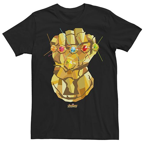 Men's Marvel Avengers Infinity War Thanos Gauntlet Graphic Tee