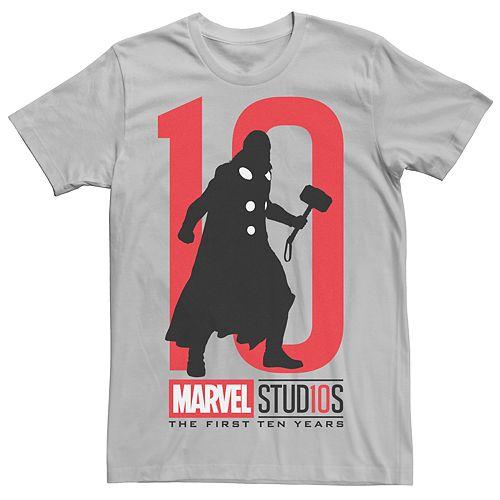 Men's Marvel Studios Thor 10 Graphic Tee