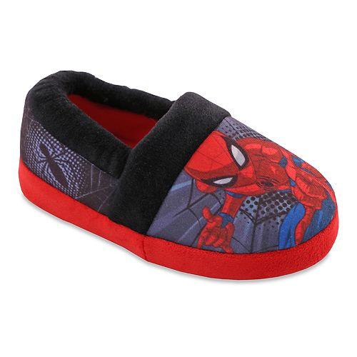 Marvel Spider Man Toddler Boys' Slippers