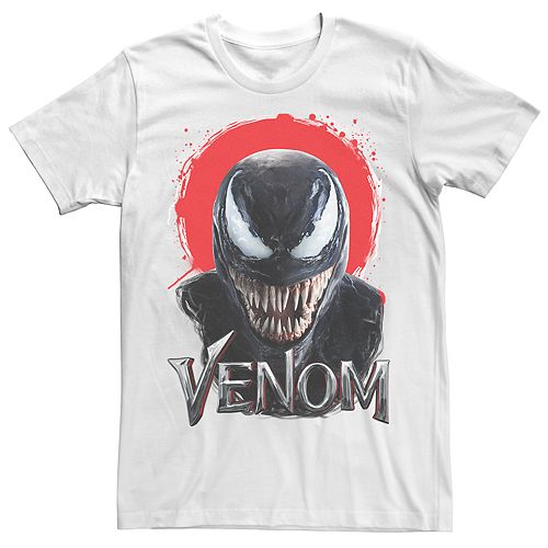 Men's Venom Red Face Paint Tee