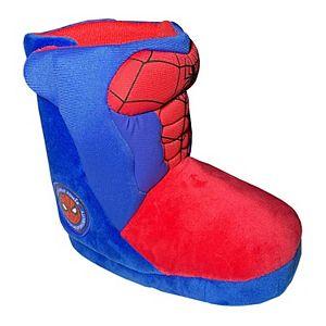 Marvel Spider-Man Toddler Boy's Slipper Boots