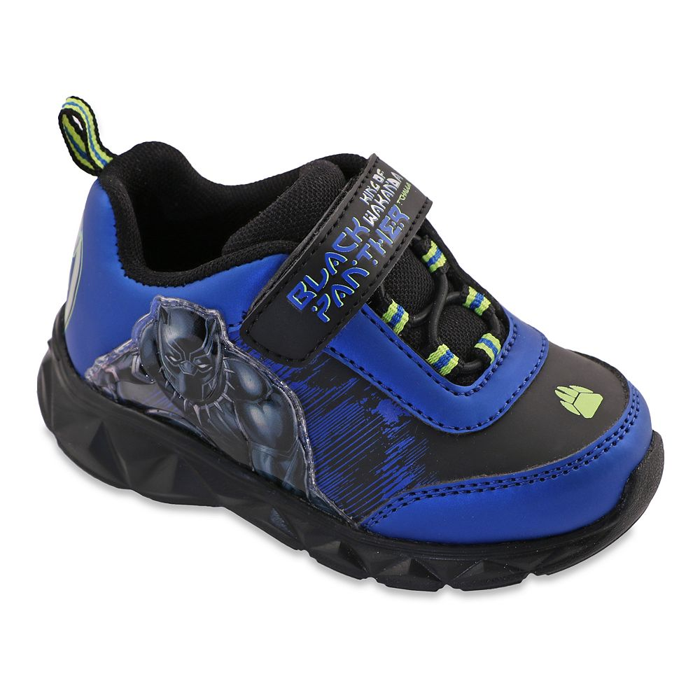 Marvel Black Panther Toddler Boys' Light Up Shoes