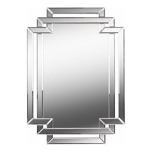 Kenroy Home Linas Silver Wall Mirror