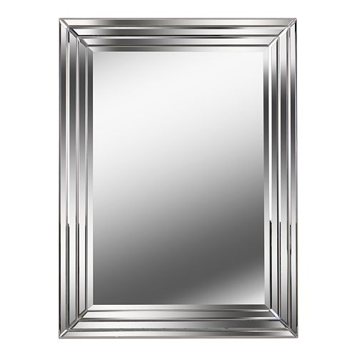 Kenroy Home Exeter Silver Wall Mirror