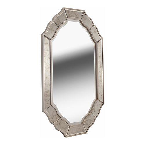 Kenroy Home Deidre Antique Wall Mirror
