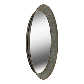 Kenroy Home Antillean Galvanized Wall Mirror
