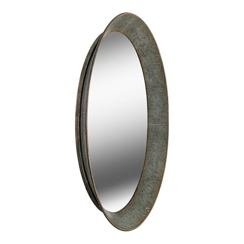 Kenroy Home Antillean Galvanized Wall Mirror