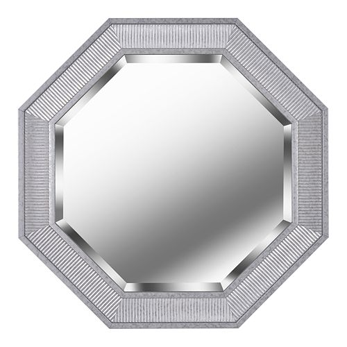 Kenroy Home Galavant Galvanized Wall Mirror