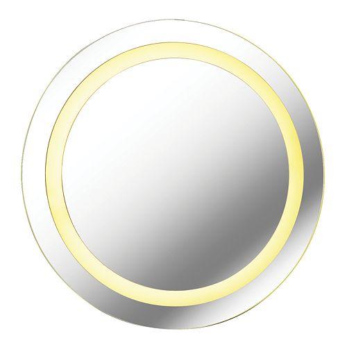 Kenroy Home Lakelet Silver LED Mirror