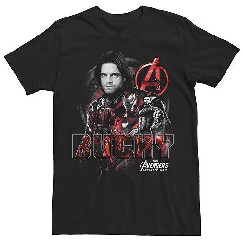 Men's Avengers Infinity War Bucky Tee