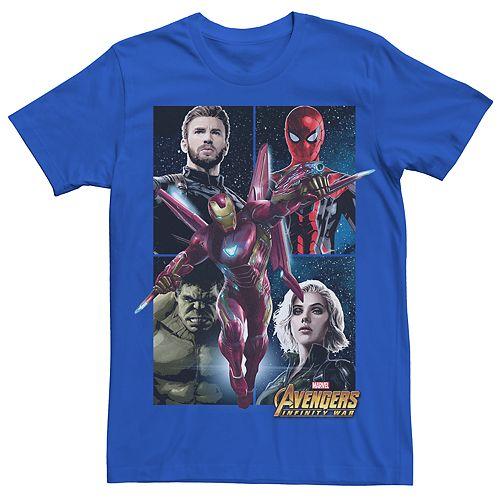 Men's Avengers Infinity War Square Tee