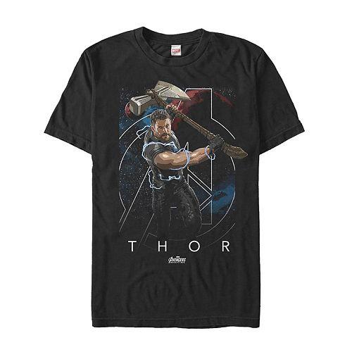 Men's Avengers Infinity War Thor Tee