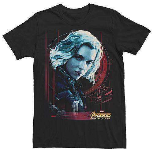 Men's Avengers Infinity War Black Widow Tee