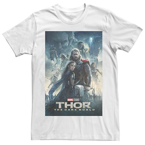 Men's Thor The Dark World Poster Tee
