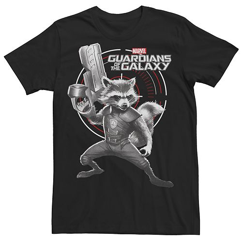 Men's Guardians of the Galaxy Rocket Raccoon Tee