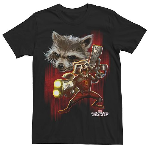 Men's Guardians of the Galaxy Rocket Raccoon Tee