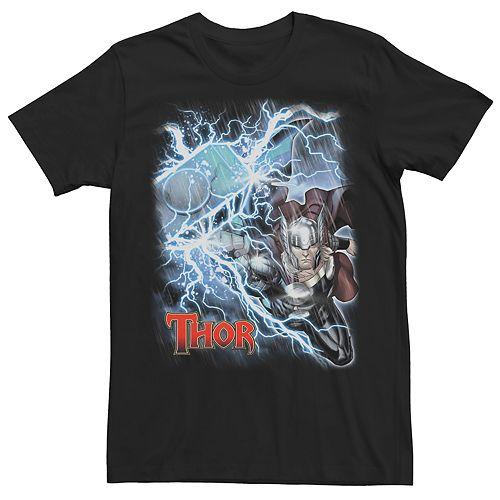 Men's Retro Thor Hammer Tee