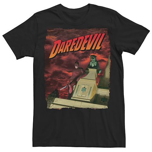 Men's Daredevil Retro Skyscrapper Tee