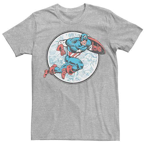 Men's Captain America Retro Tee