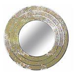 Kenroy Home Centrico Mixed Glass Mosiac Wall Mirror