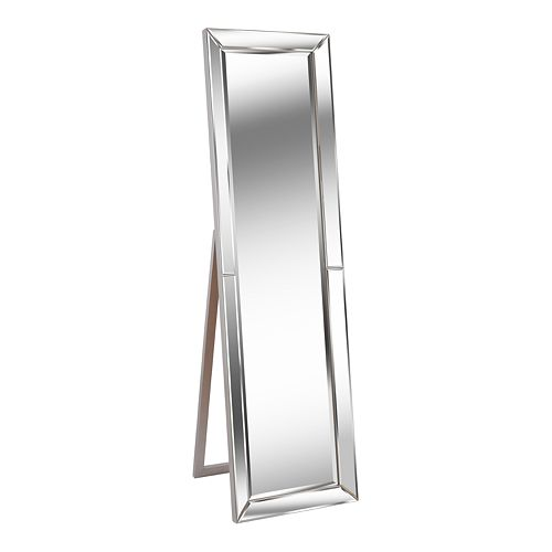Kenroy Home Chauncey Silver Stand Mirror