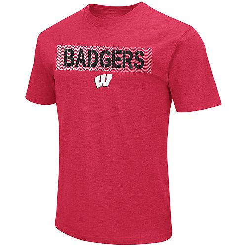 Men's Wisconsin Badgers Banner Tee