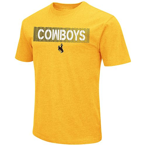 Men's Wyoming Cowboys Banner Tee