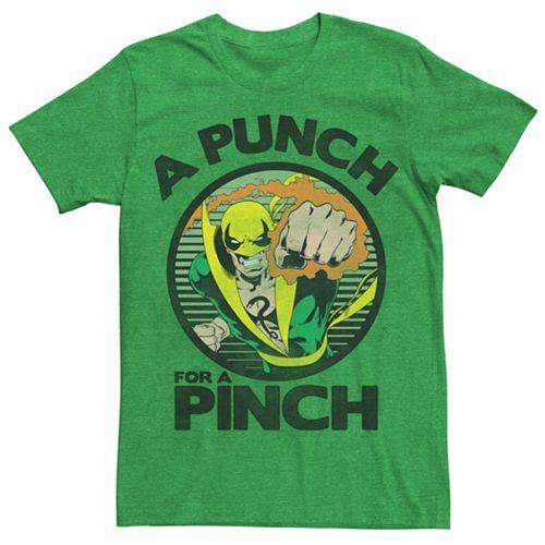 Men's Marvel Comics Retro Iron Fist Pinch Tee