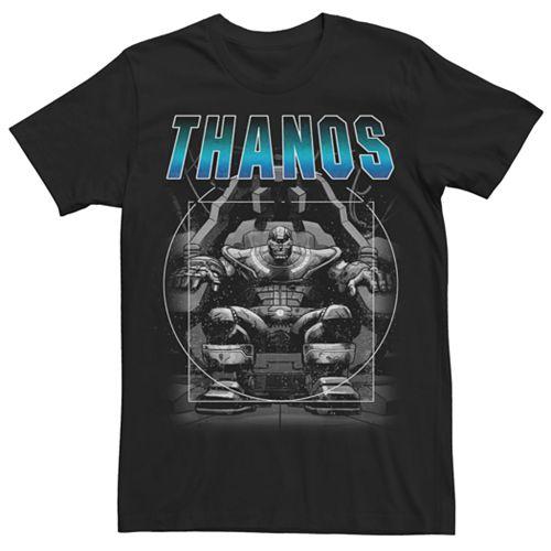 Men's Marvel Universe Thanos Chair Tee