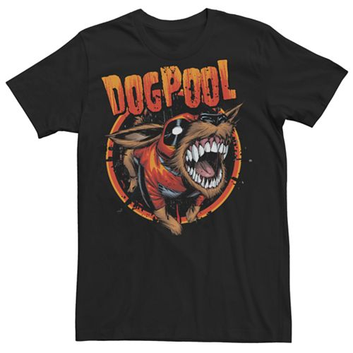 Men's Marvel Comics Deadpool Dogpool Tee