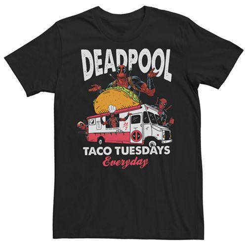 Men's Marvel Comics Deadpool Taco Tuesday Everyday Tee