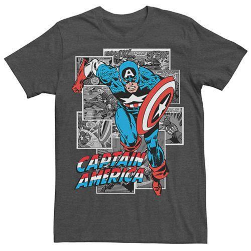 Men's Marvel Comics Retro Captain America  Tee
