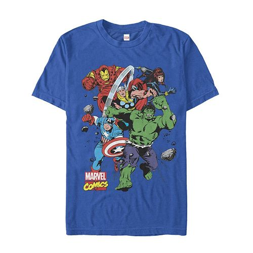 Men's Marvel Comics Hero Starters Tee