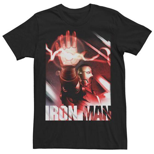 Men's Marvel Comics Iron Man Reaching Tee