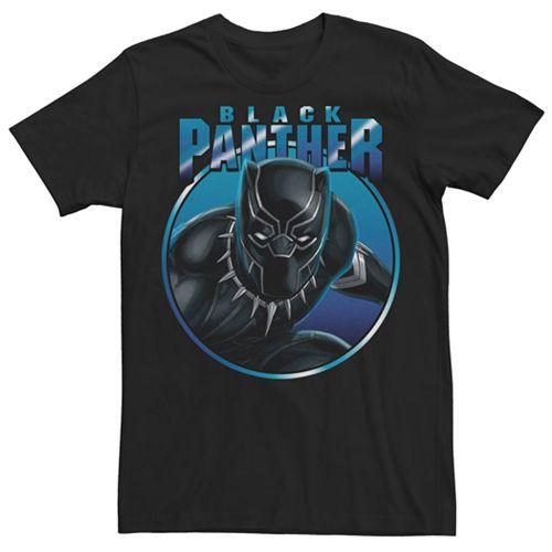 Men's Marvel Comics Black Panther Gaze Tee