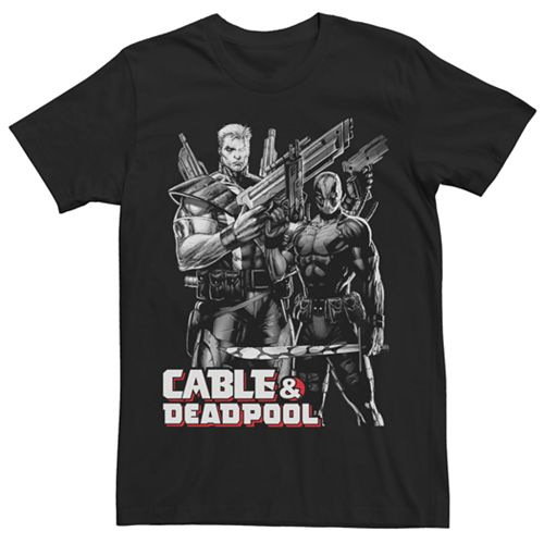 Men's Marvel Cable & Deadpool Graphic Tee