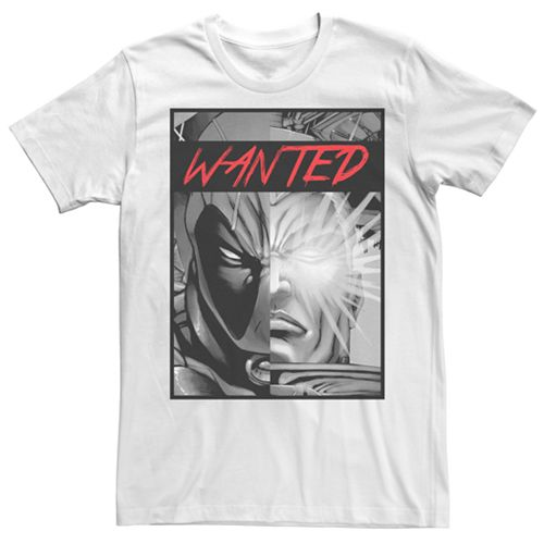 Men's Marvel Cable & Deadpool Poster Graphic Tee